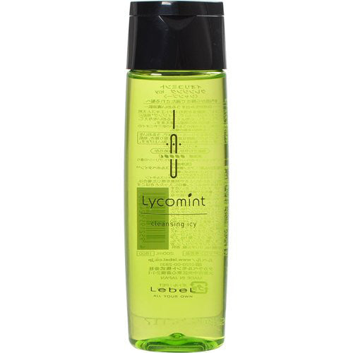 Lebel IAU Cleansing Lycomint icy Shampoo 200ml - Harajuku Culture Japan - Japanease Products Store Beauty and Stationery