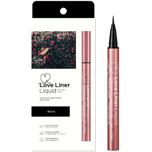 Love Liner Msh Liquid Eyeliner - Black - Harajuku Culture Japan - Japanease Products Store Beauty and Stationery