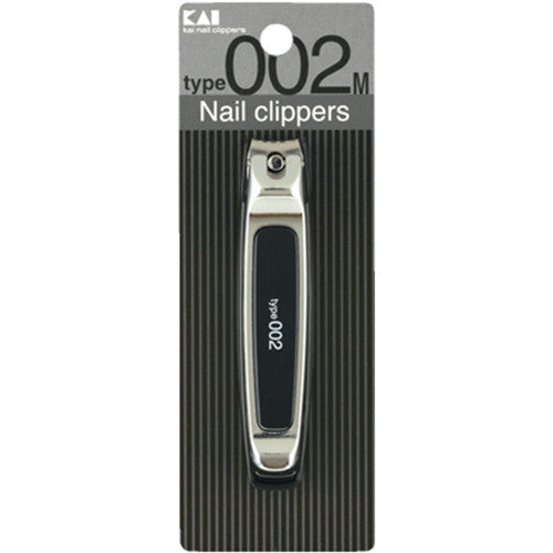 Harajuku Nail Stainless Nail Clipers 02 - M Size - Black - Harajuku Culture Japan - Japanease Products Store Beauty and Stationery