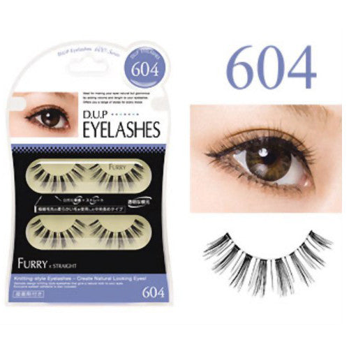 D.U.P False Eyelashes - Furry 604 - Harajuku Culture Japan - Beauty Products Store