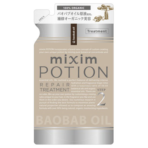 Mixim Potion Baobab Oil  Step2 Peapair Hair Treatment Refill 350g - Iran Iran Essential Oil Scent