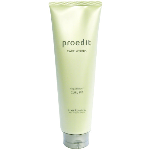 Lebel Proedit Care Works Hair Ttreatment Carl Fit - 250ml - Harajuku Culture Japan - Beauty Products Store