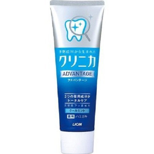 Tooth Care Toothpaste Lion Clinica Advantage 130g - Cool Mint - Harajuku Culture Japan - Japanease Products Store Beauty and Stationery