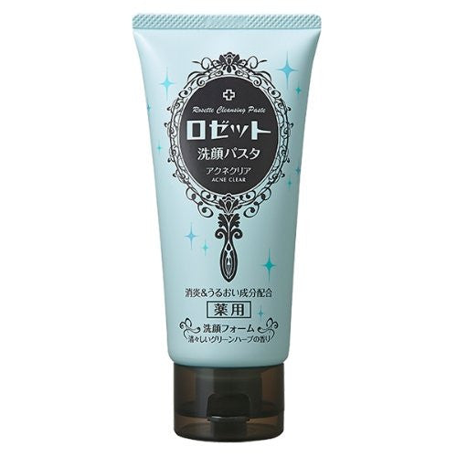 Rosette Face Wash Pasta 120g - Acne Barrier - Harajuku Culture Japan - Beauty Products Store