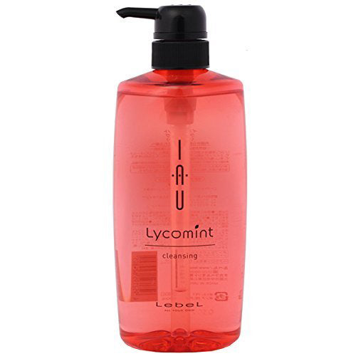 Lebel IAU Cleansing Lycomint Hair Shampoo - 600ml