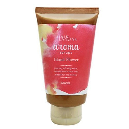 Demi Hair Seasons Aroma Syrups Hair Mask 240g - Island Flower - Harajuku Culture Japan - Beauty Products Store