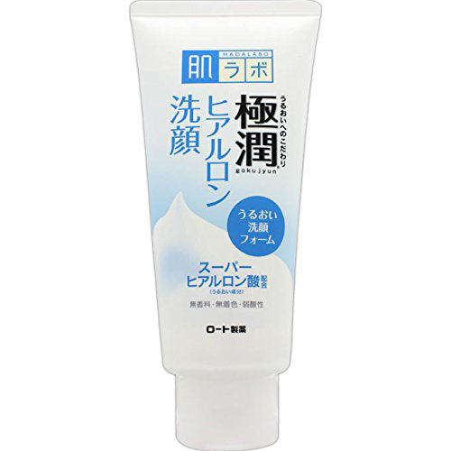 Rohto Hadalabo Gokujyn Foam Cleanser - 100g - Harajuku Culture Japan - Japanease Products Store Beauty and Stationery