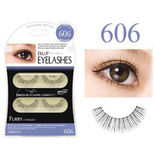 D.U.P False Eyelashes - Furry 606 - Harajuku Culture Japan - Beauty Products Store