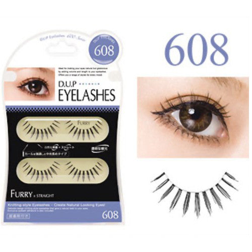 D.U.P False Eyelashes - Furry 608 - Harajuku Culture Japan - Beauty Products Store