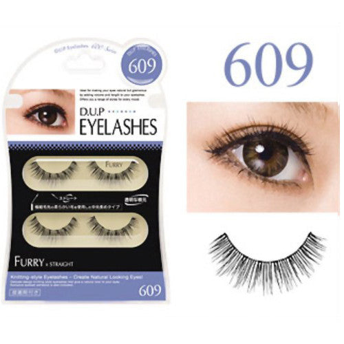 D.U.P False Eyelashes - Furry 609 - Harajuku Culture Japan - Beauty Products Store