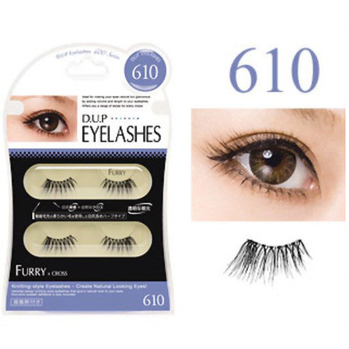 D.U.P False Eyelashes - Furry 610 - Harajuku Culture Japan - Beauty Products Store