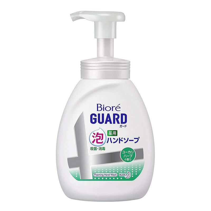 Biore Guard Medicinal Gel Hand Soap - 500ml - Eucalyptus Herb - Harajuku Culture Japan - Japanease Products Store Beauty and Stationery