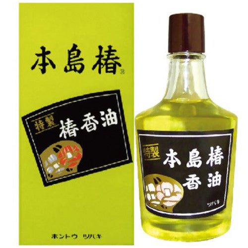 Honshima Tshubaki Hair Oil 120ml - Harajuku Culture Japan - Japanease Products Store Beauty and Stationery