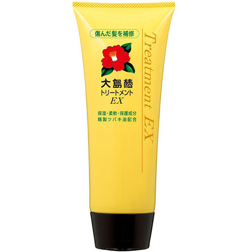 Oshima Tsubaki EX Hair Treatment - 200g - Harajuku Culture Japan - Japanease Products Store Beauty and Stationery