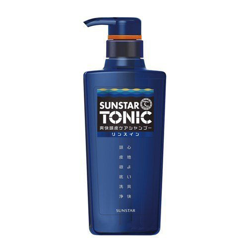 Sunstar Tonic Scalp Rinse in Shampoo - 520ml - Harajuku Culture Japan - Beauty Products Store