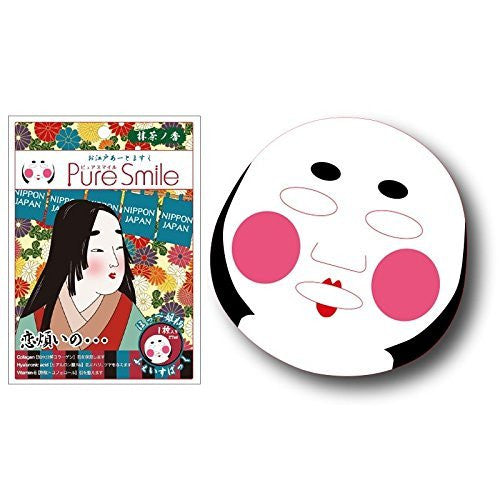 Pure Smile Edo Art Face Mask - Hope Hime