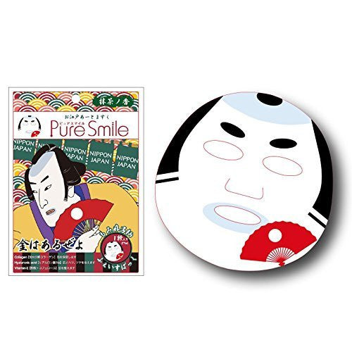 Pure Smile Edo Art Face Mask - Momimaro