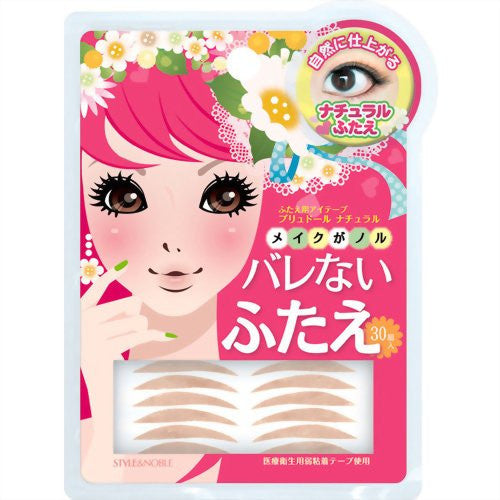 Prudor Natural Double Eyelid Tape - 30 tapes - Harajuku Culture Japan - Beauty Products Store