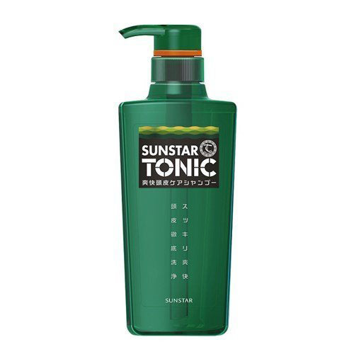 Sunstar Tonic Scalp Clear Shampoo - 480ml - Harajuku Culture Japan - Beauty Products Store