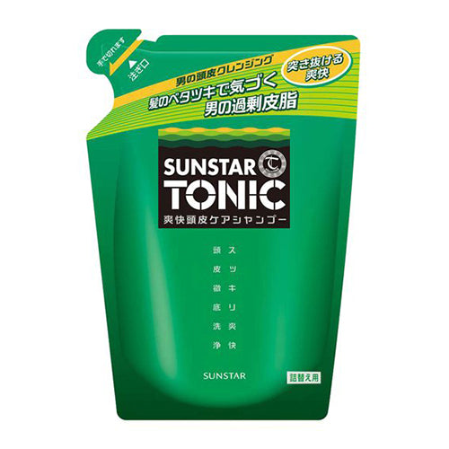 Sunstar Tonic Scalp Clear Shampoo - 340ml - Refill - Harajuku Culture Japan - Beauty Products Store