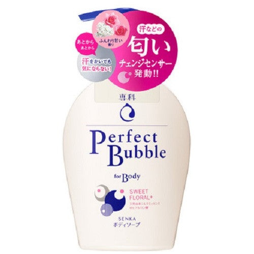 Shiseido Senka New Perfect Bubble For Body Sweet Floral N  500ml
