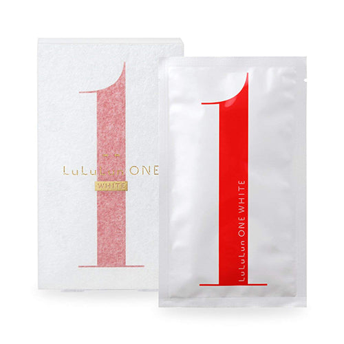 Lululun One White Face Mask - 5pcs - Harajuku Culture Japan - Beauty Products Store