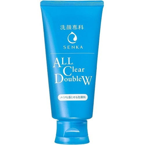 Shiseido Senka All Clear Double W (Makeup Can Be Dropped Facial Cleanser) - 120g