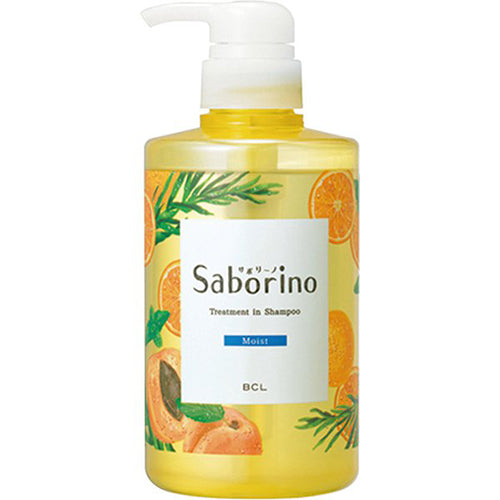 Bcl Saborino Treatment in Shampoo 460ml - Moist