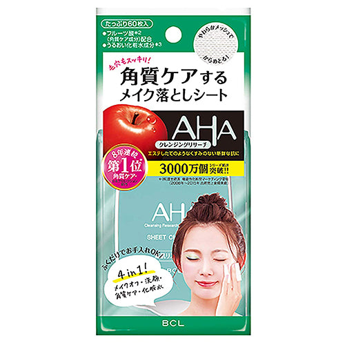 Cleansing Research AHA Sheet Cleansing - 60sheets