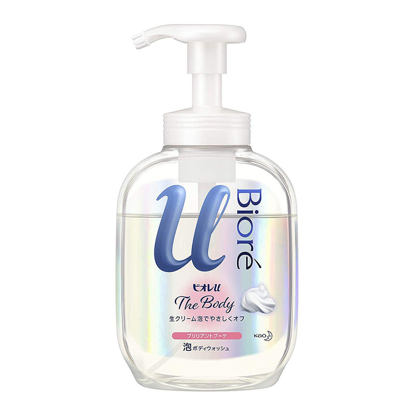 Biore U The Body Whip Type Body Wash 540ml - Brilliant Bouquet Incense - Harajuku Culture Japan - Japanease Products Store Beauty and Stationery