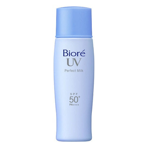 Biore Sarasara UV Perfect Milk Waterproof Sunscreen 40ml SPF50+ Pa+++ for Face and Body - Harajuku Culture Japan - Beauty Products Store