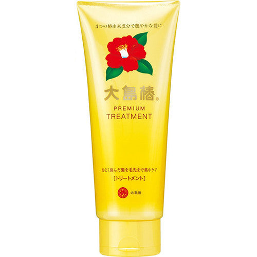 Oshima Tsubaki Premium Hair Treatment with Camellia Oil - 180g - Harajuku Culture Japan - Japanease Products Store Beauty and Stationery