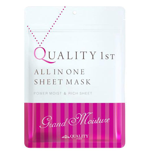 Quality First All in One Sheet Mask Grand Moist - 1box for 7pcs