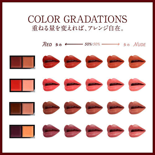 Kanebo Kate Color Enamel Lip Gloss - BU-1