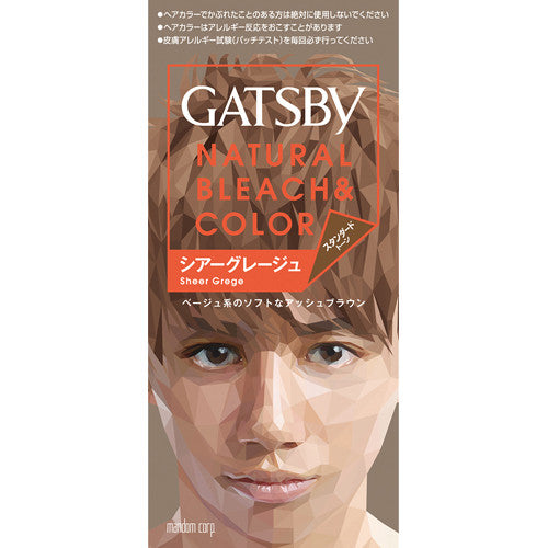 Gatsby Natural Bleach Hair Color New Version  Shear Grease