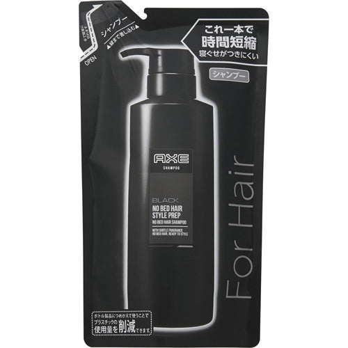 Axe Black No Bed Hair Style Prep Refill 280g - Harajuku Culture Japan - Beauty Products Store