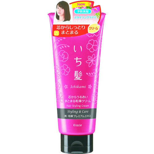 kracie Ichigami Settled Wakagusa Hair Cream  150g - Harajuku Culture Japan - Japanease Products Store Beauty and Stationery