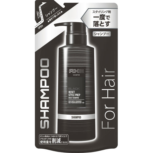 Axe Black Reset Style Prep Reset Shampoo Refill 280g - Harajuku Culture Japan - Beauty Products Store