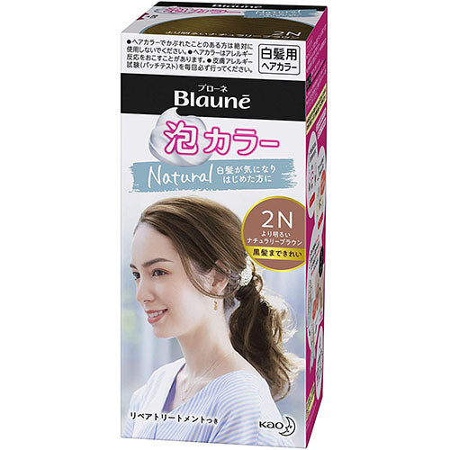 Kao Blaune Bubble Hair Color - Natural Series - Harajuku Culture Japan - Japanease Products Store Beauty and Stationery