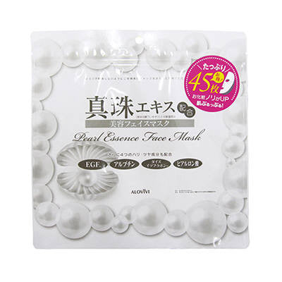 Alovivi Pearl Beauty Face Mask - 45sheet - Harajuku Culture Japan - Beauty Products Store