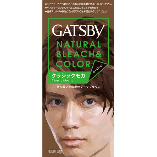 Gatsby Natural Bleach Hair Color New Version  Classical Mocha