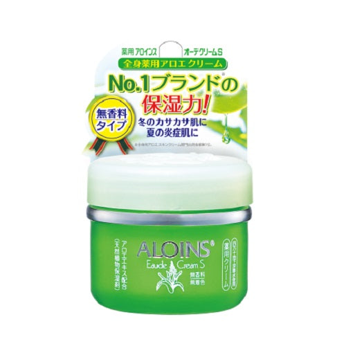 Aloins Eaude Cream S (Medicated Skin Cream) 35g - No Fragrance - Harajuku Culture Japan - Beauty Products Store