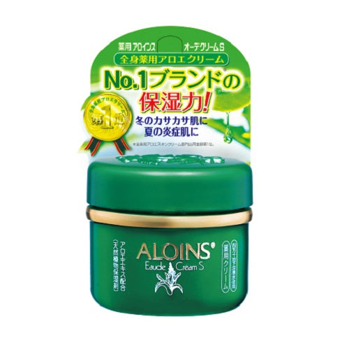 Aloins Eaude Cream S (Medicated Skin Cream) 35g - Floral Green Scent - Harajuku Culture Japan - Beauty Products Store