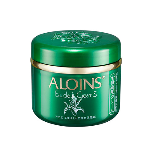 Aloins Eaude Cream S (Medicated Skin Cream) 185g - Floral Green Scent - Harajuku Culture Japan - Beauty Products Store