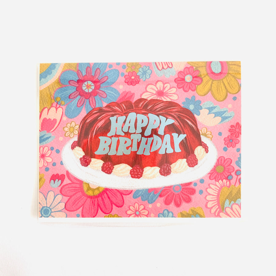 Jello Mold Birthday Card