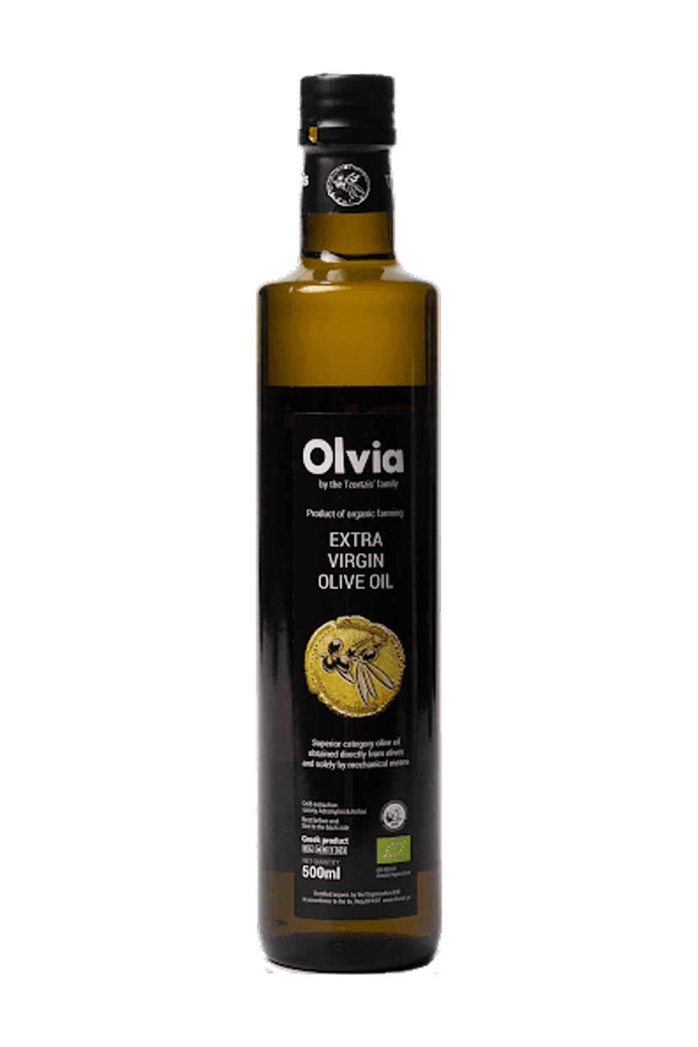 Olvia Extra Natives Olivenöl 0,75 lt. Bio