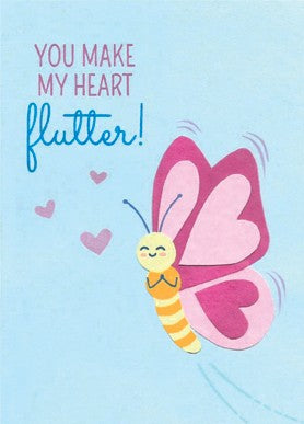 Heart Flutter Love