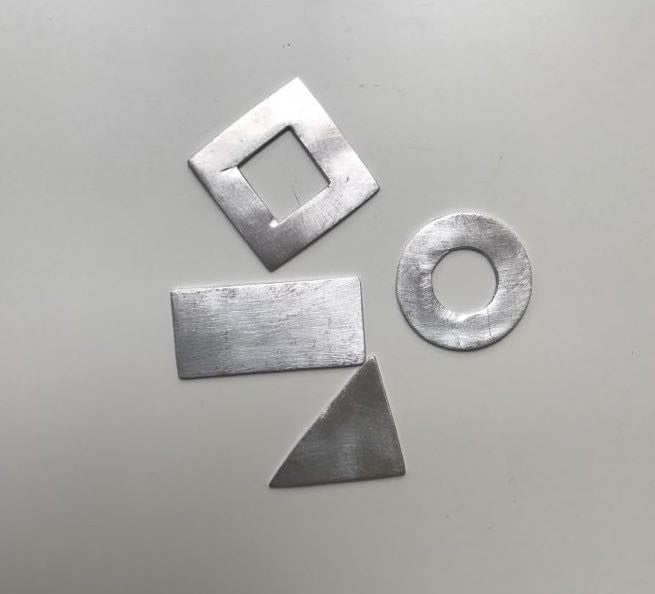Easy to Stamp Aluminum Shapes