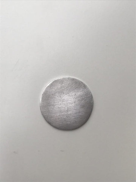 Easy to Stamp Aluminum Circle