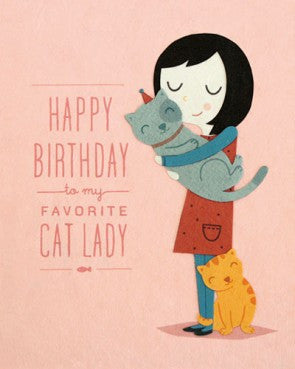 Cat Lady Birthday